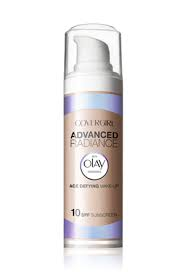 Base Líquida Advance Radiance Olay Covergirl 155